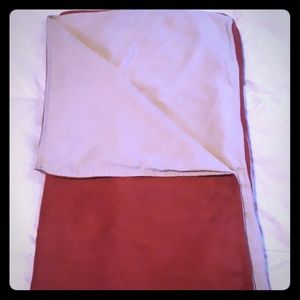 Other - NWT Suade & Linen Throw Blanket
